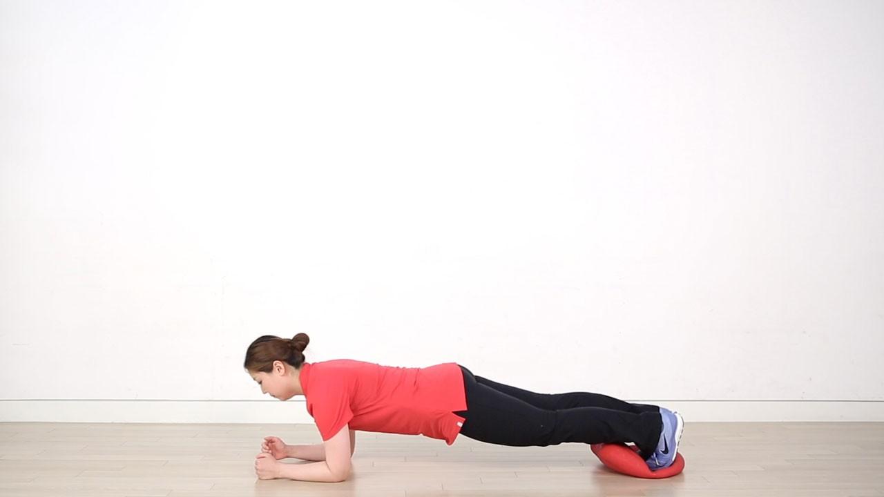 싯핏플러스를 활용해 유연성과 근육을 키워주는 허리,골반 운동