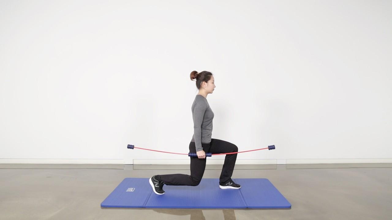 스포츠 스윙을 활용한 전신근력 및 안정성 운동