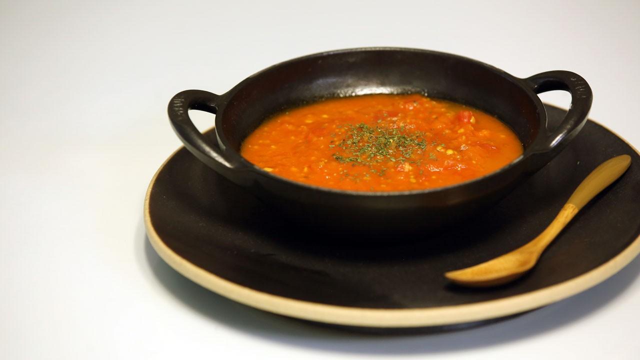 [갱년기 극복에 좋은 요리] 활력을 위한 붉은 에너지, 토마토 스프