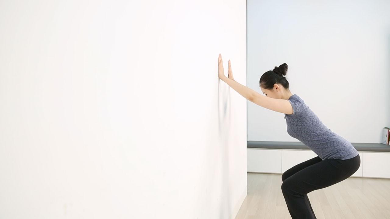 허리,골반과 고관절 굽힘에 좋은 허리 운동법