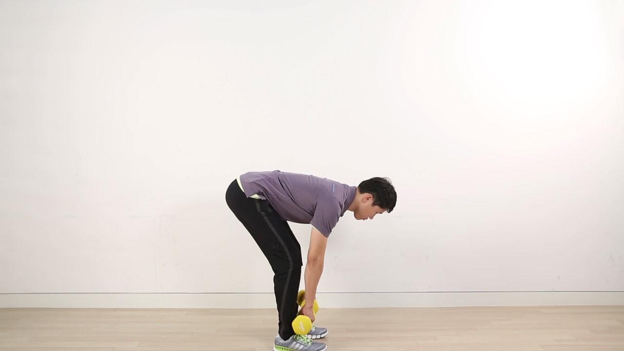 엉덩이, 허벅지 전면부위 웨이트 운동 -데드리프트